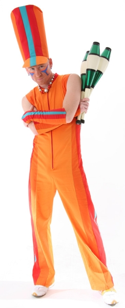 Alain Juggling Costume