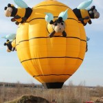 Bunch of Bees Special Shape Balloon