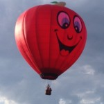Apple PI Special Shape Balloon