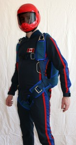 Custom Harness with Lumbar Support