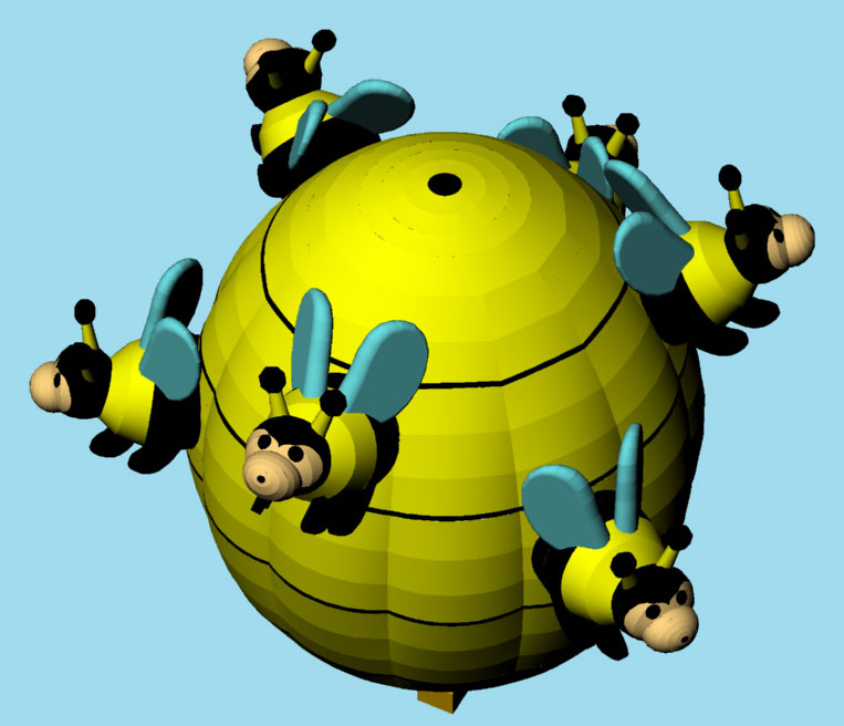 Bunch of Bees