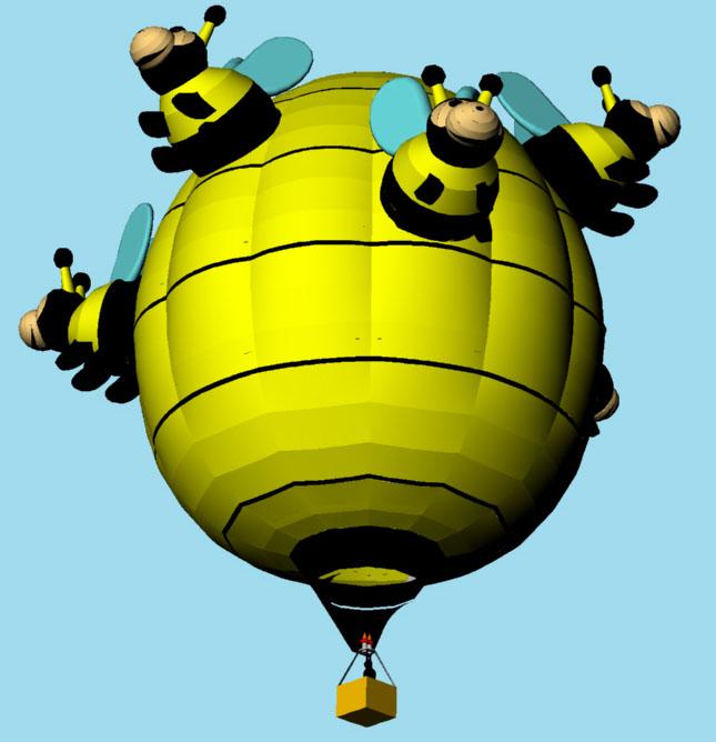 Bunch of Bees Bottom