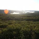 Balloons in the Mist